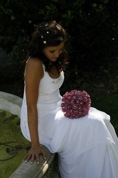 bride with bouquet Valverde