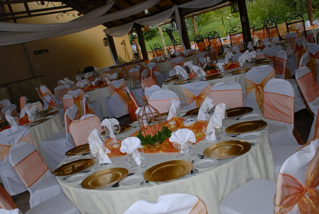 Valverde Country Hotel table setup
