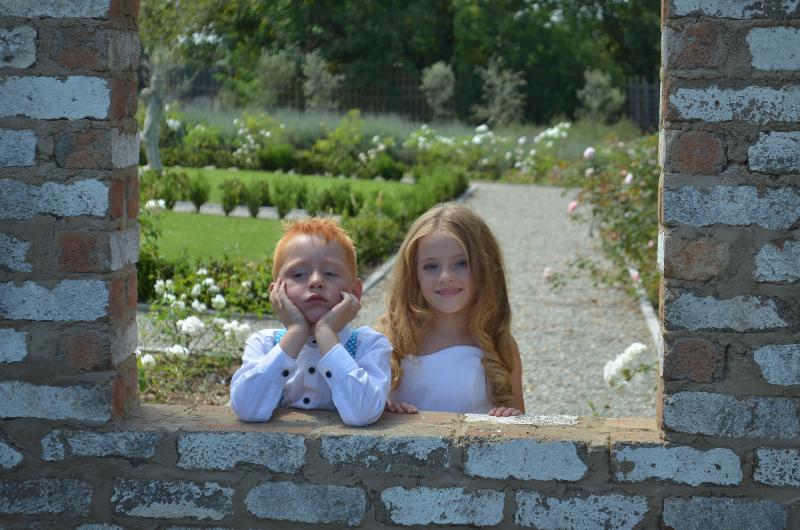 Valverde brick window kiddies wedding