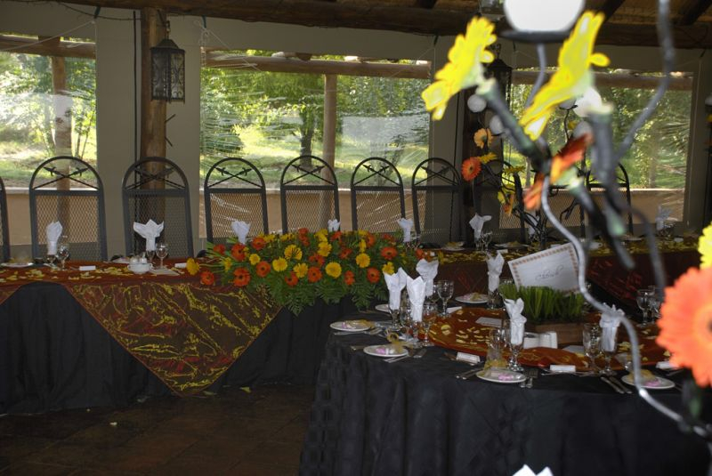 Main table decor Valverde