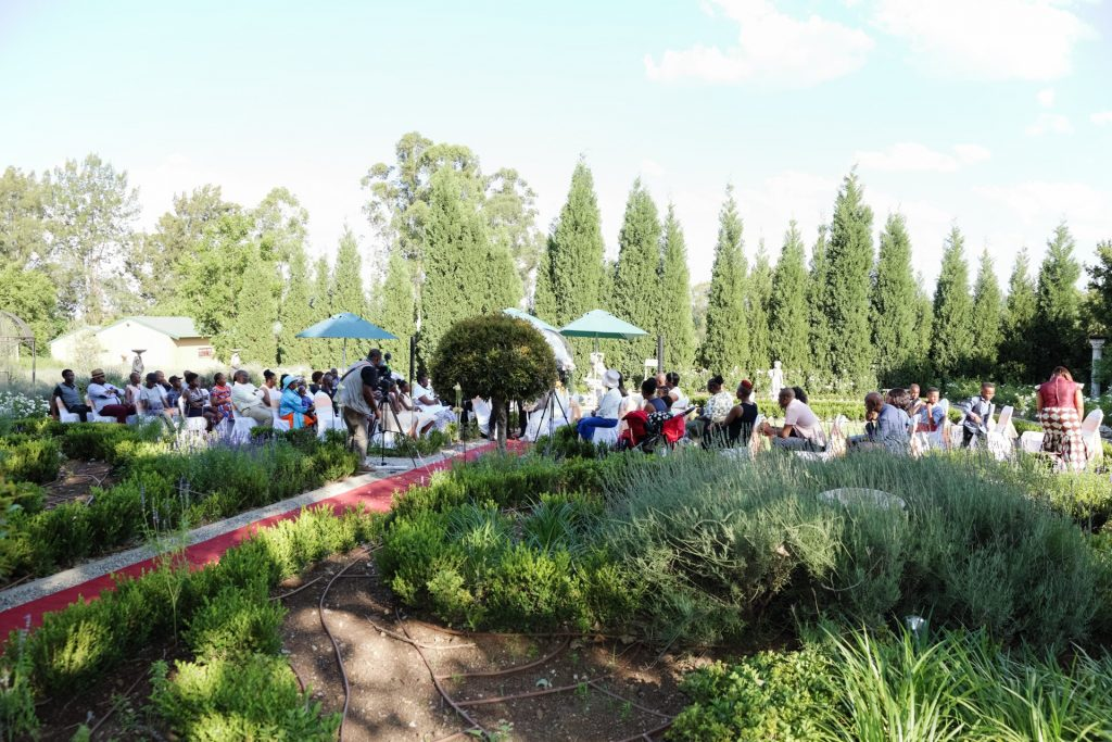 Garden Ceremony at Valverde