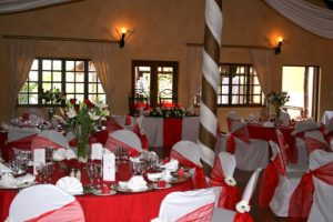 0Valverde country hotel kings hall table setup